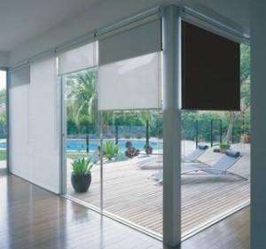 Interior Sheer Blinds in Living Room