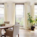 Full drop curtains in Brighton Living Room