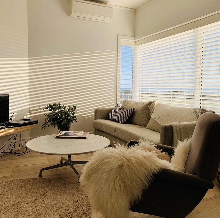 Venetian Blind on Interior at Elwood Woy Woy Building