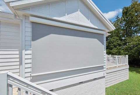 Straight Drop outdoor Awnings