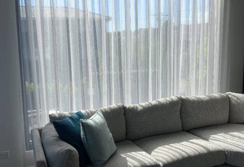 Malvern sheer curtains
