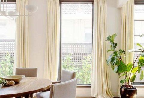 Nicholls Interiors - Curtains On Dec Rods