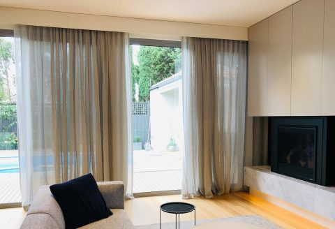 Nicholls Interiors - Sheer Curtains